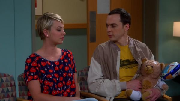 "Kaley Cuoco Screencaps de ""The Big Bang Theory"" 8x09 - The Septum Deviation"