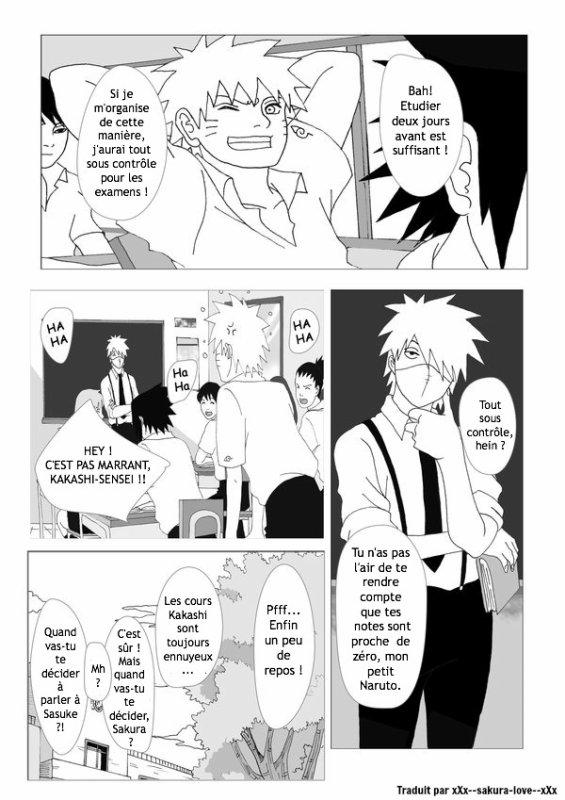 Konoha High School - Chapitre 1 (page 1 à 5)