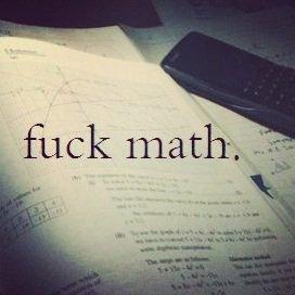 90% des gens n'aime pas les maths