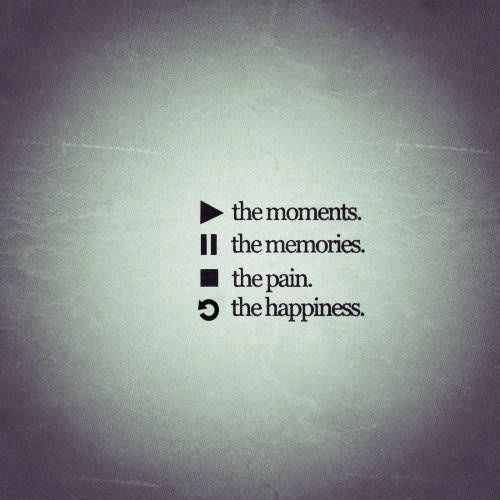 l'heure actuelle. les souvenirs. la douleur. le bonheur.❤️