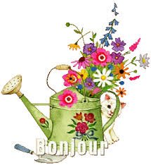 Quelques fleurs pour vous souhaiter une bonne journée !!