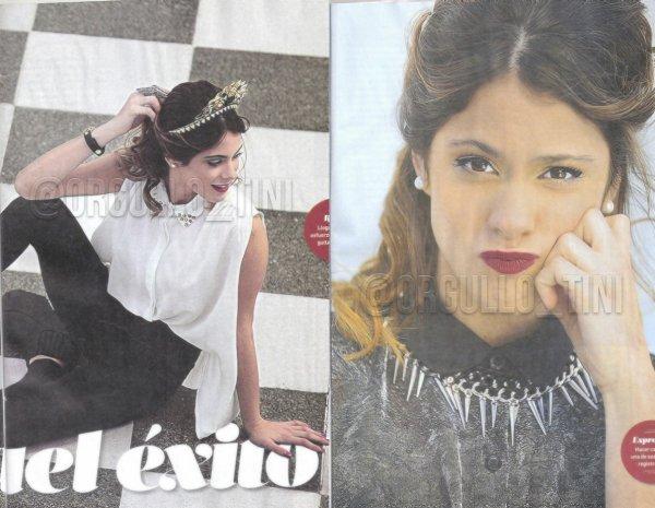 """Martina pour le magazine """"Viva"""""""