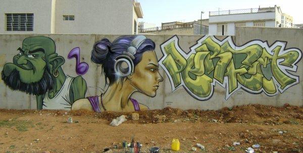 GRAFFITI MAROC (RABIE)