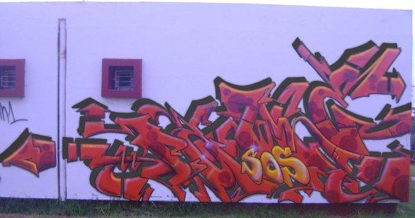 graffiti Maroc le groupe perfect n1 dans l'Afrique