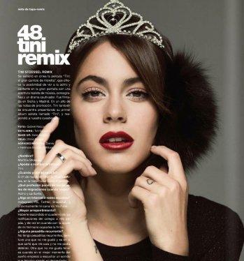 Ce sont les pages de la Revista Remix