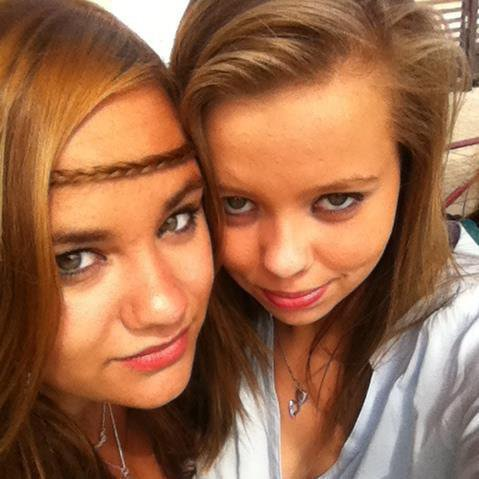 Moi et ma meilleure amie ;)