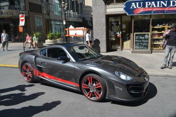 Porsche Cayman RUSH by Anibal Automotive Design
