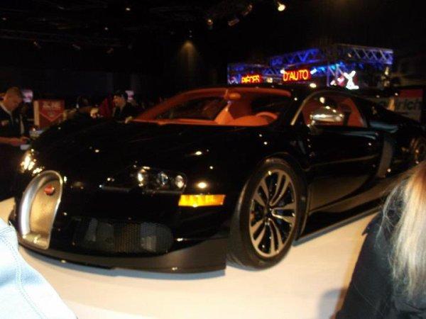 Bugatti Veyron Sang-noir