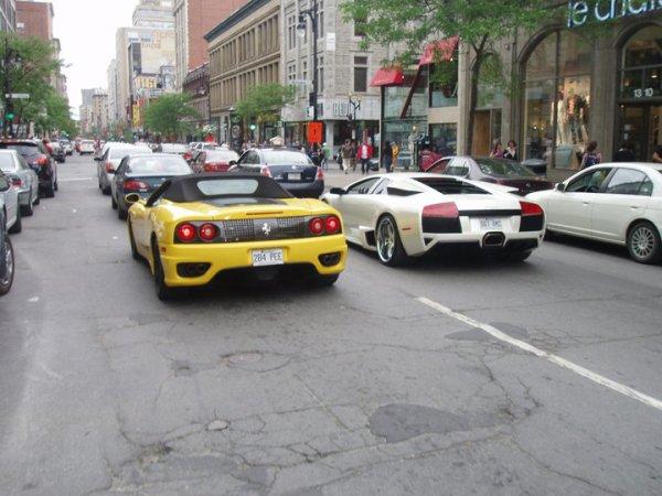 Ferrari 360 Spider / Lamborghini LP640