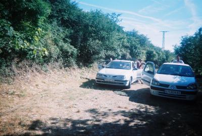 Week end dans le verdon du 8/08/08