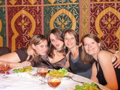 Mon anniversaire , soirée creole au chap ^^ merci a vous les filles et a l assoc car ils sont super !!!