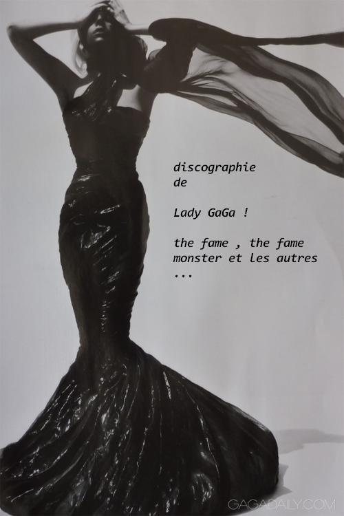 discographie de GaGa