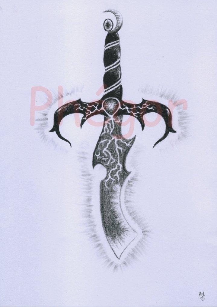 """Et encore une dague """"ténèbres dans la lumière"""" :)"""