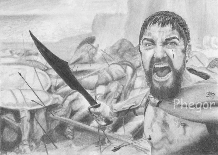 Dessin de Leonidas :)