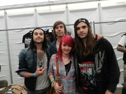 2em rencontre avec Betraying The martyrs ! <3