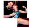 ▄Nouveau Tatouage Pour Miley Cyrus , Il semblerait que Miley c'est rendu très Récemment dans un Salon de tatouage pour se faire cette écriture sur le Bras droite Love Never Dies  ... Tu en Pense Quoi ?