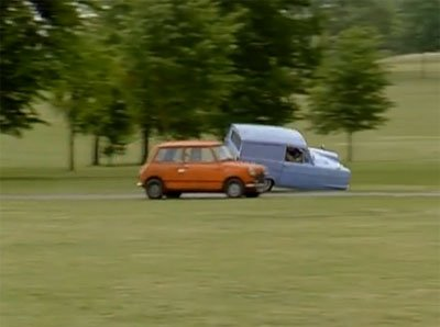 La première voiture Mr Bean Le collectionneur