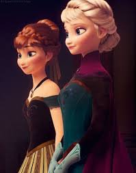 CITATION: Elsa et Anna <3