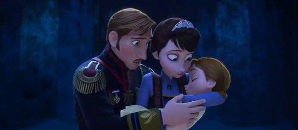 Les parents d'Elsa et Anna <3