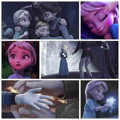 """COMPOSITION: """"Souvenir d'enfance d'Elsa"""" <3"""