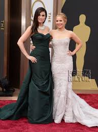 L'équipe de la Reine des Neiges en mode Oscars... :)