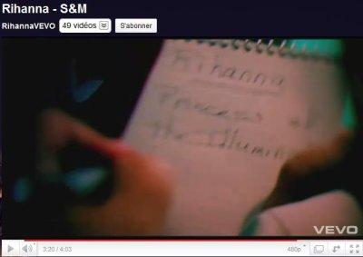 Rihanna - Princess of the illuminati ( S&M )