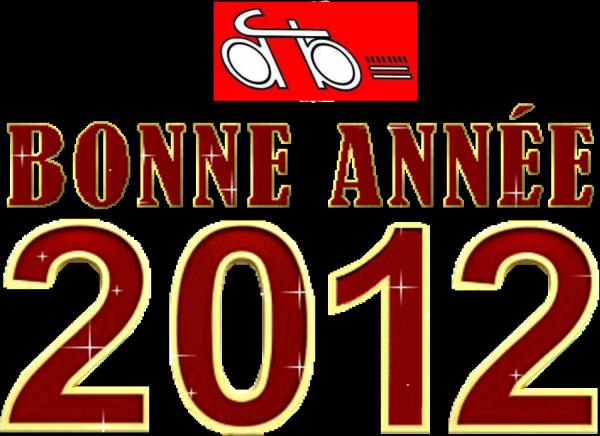 Le comité vous souhaite une bonne et heureuse année 2012 .