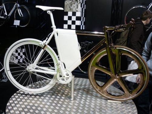 Visite au salon du vélo à Courtrai.