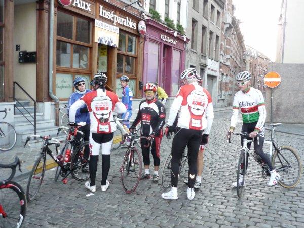 Binche - Tournai - Binche  CYCLO 2012 .