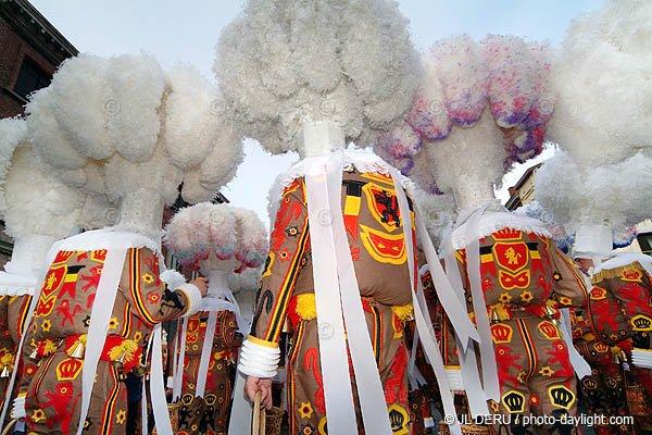 Carnaval de Binche 2013.