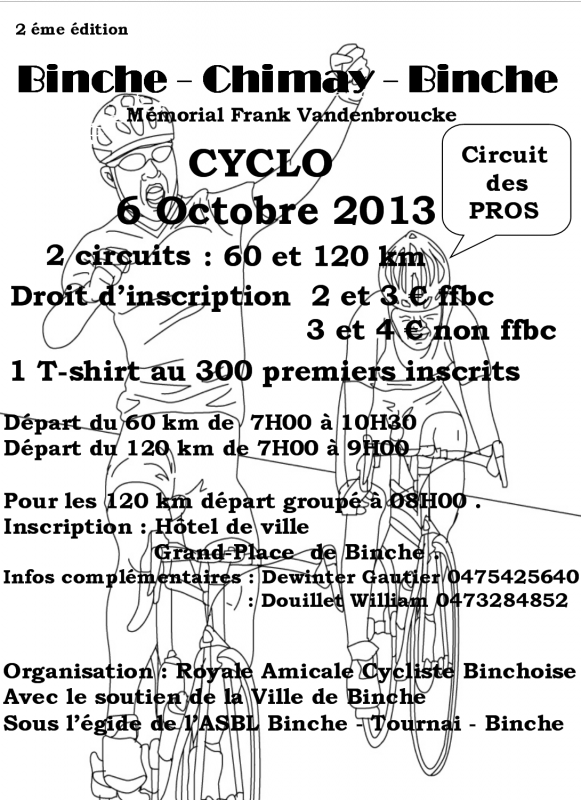 Binche - Chimay - Binche