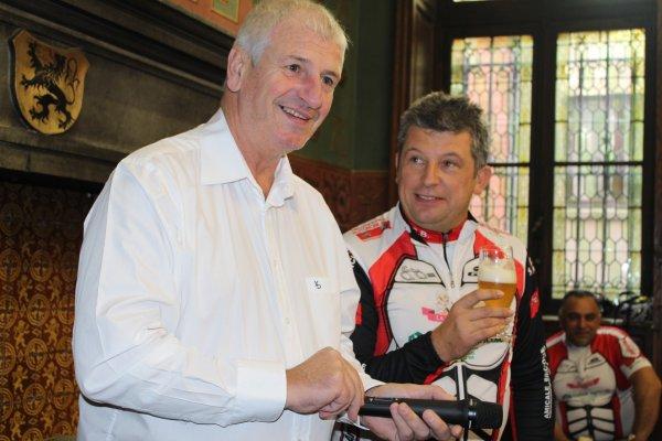 70 éme Anniversaire de la Royale Amicale Cycliste Binchoise .