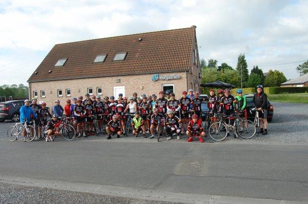 Sortie ACB à Fontaine au Bois chez Jean-Marie Leblanc le 29/05