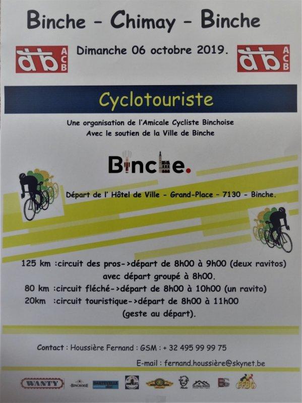 Binche-Chimay-Binche 2019