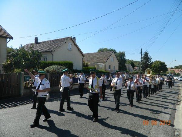 Fête communal a Auneuil 2012