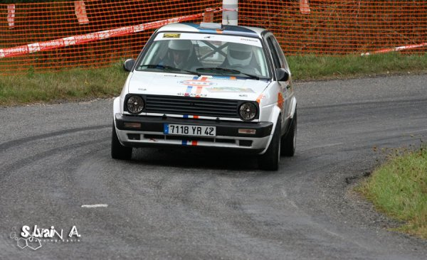 Le rallye des Noix 2010...