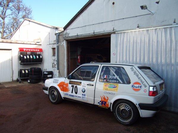 Ce qui pourrait être notre programme rallystique pour cette saison 2011...