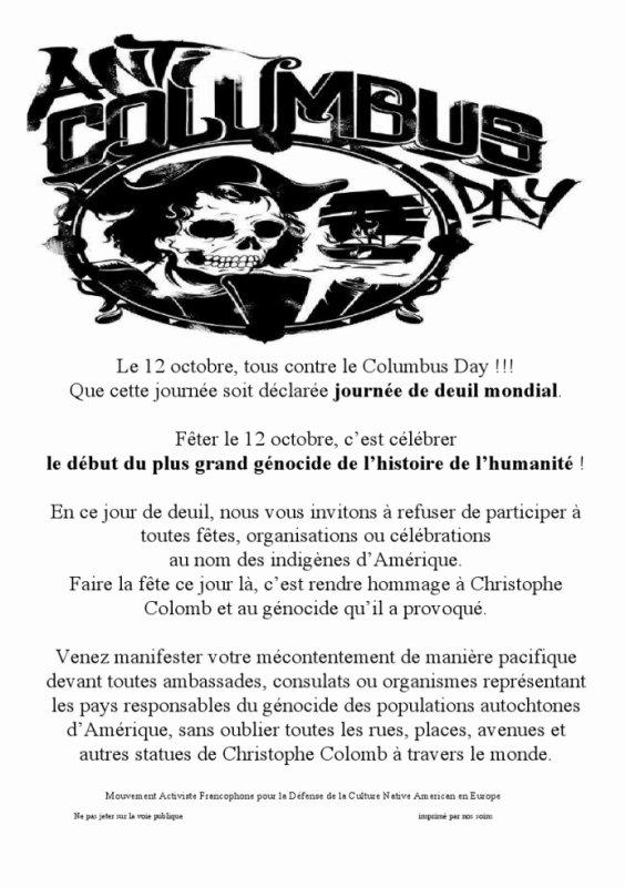 anti columbus day