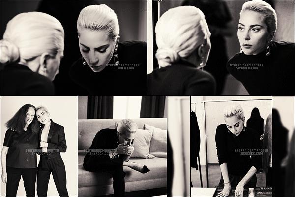 ► Lady Gaga est le nouveau visage de la marque  Tiffany & Co. Photoshoot & Pub ci-dessous :