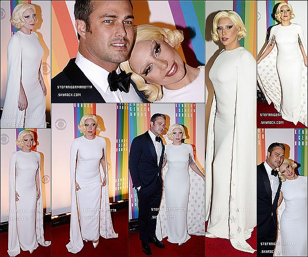 07/12/14 : Lady Gaga était présente à la cérémonie des Kennedy Center Honors à Washington.