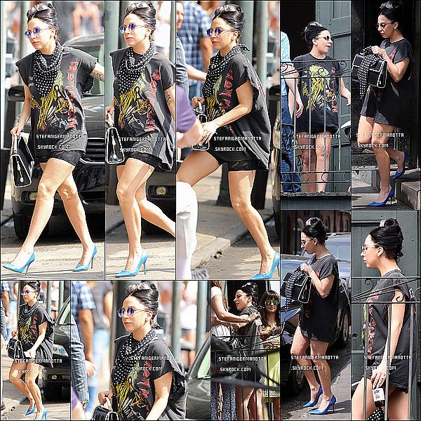 21/03/15 : L'extravagante Lady Gaga a été vue se rendant à un brunch en Nouvelle Orléans.