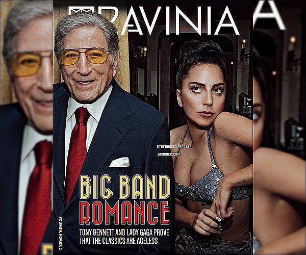 ► Lady Gaga et Tony Bennett font la couverture du dernier numéro du Ravinia.