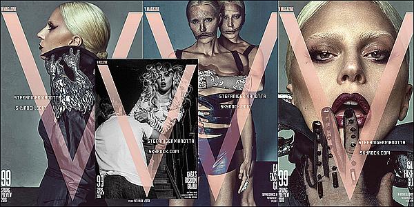 ► Découvre les couvertures de Lady Gaga pour V Magazine n°99, issue Janvier 2016 !