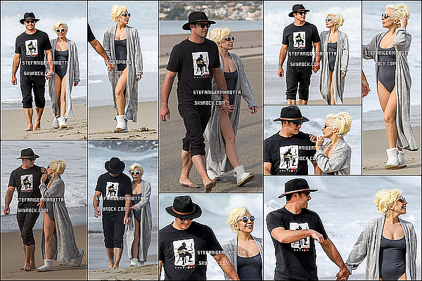 11/01/16 : Lady Gaga et Taylor Kinney ont été aperçus se baladant le long d'une plage à Malibu.