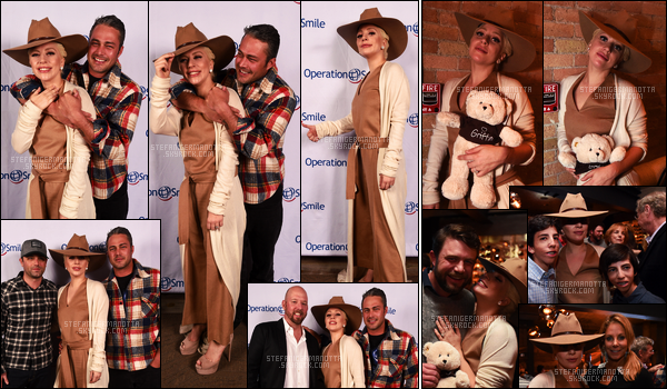 12/03/16 - Lady Gaga & Taylor K. ont été à la soirée de récolte de fonds d'Operation Smile à Park City. Cet événement qui a lieu une fois / an, a pour but de recueillir des fonds pour des enfants avec une malformation apparente sur le visage.