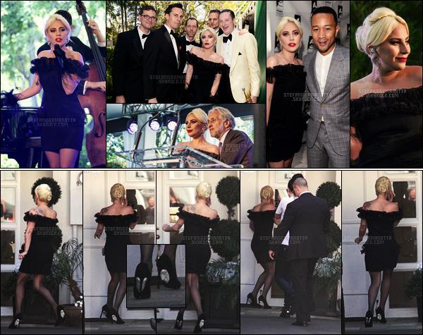 04/04/16 - Lady Gaga était aux Grammy Museum pour recevoir le Jane Ortner Artist Award - à B-H. Plus tard dans la journée, Gaga a été vue se rendant à l'institut de beauté Epione, situé encore à Beverly Hills. J'aime bien cette robe !