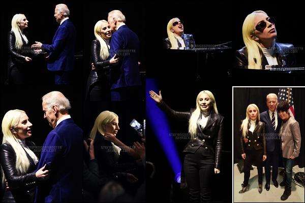 07/04/16 - Lady Gaga a performé Til It Happens To You dans l'Université du Nevada - à Las Vegas. Cette intervention a lieu dans le cadre de la campagne de sensibilisation contre les agressions sexuelles créée par Joe Biden: It's On Us
