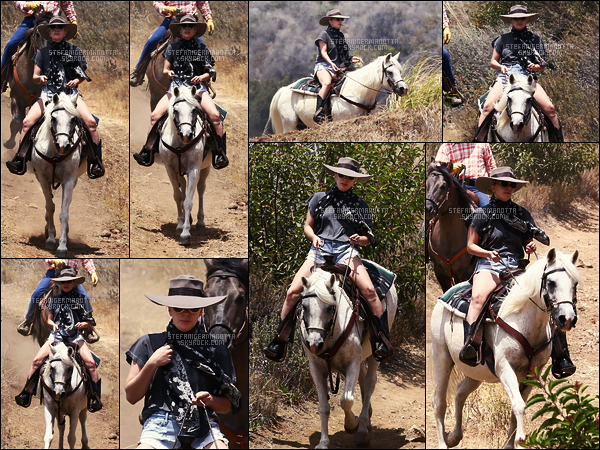 09/06/16 - Lady Gaga a été faire une randonnée avec sa jument dans les collines de Malibu, en Calif'.  La jeune femme prend du temps pour elle, ce qui n'est pas plus mal, espérons que ça lui donne de l'inspiration pour son nouvel album