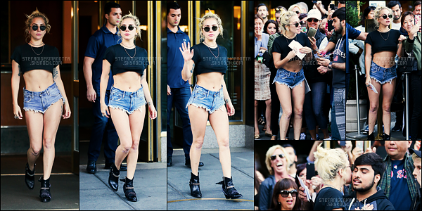24/09/16 - Dans la journée, Lady Gaga a été photographiée sortant de son appartement situé dans N-Y.  #INFO Lady Gaga a confirmé l'info sur Twitter, c'est bien elle qui assurera la mi-temps du 51ème Super Bowl le 05 février prochain !