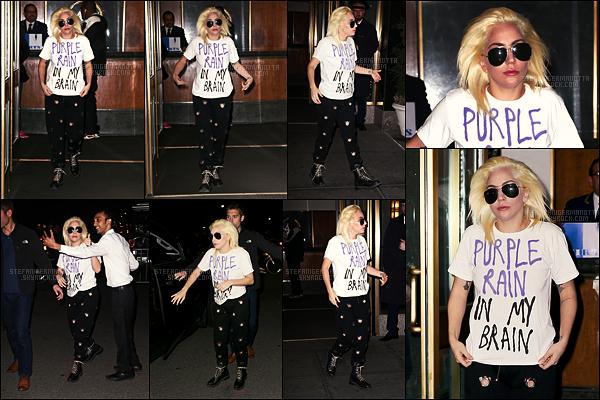 15/11/16 - La sublime Lady Gaga a été aperçue à la sortie d'un club situé dans la ville de Los Angeles.  Le 10/11, notre jolie Gaga avait été vue sortant de son appartement new-yorkais. Que pensez-vous de cette tenue ? Plutôt top/flop ?